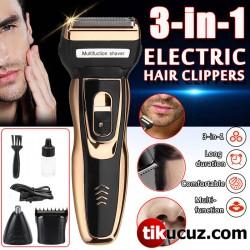 3in1 Saç Sakal Bıyık Vücut Kıl Alma Makinesi
