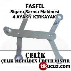 Fasfil Sigara Sarma Makinesi Çelik 4 Ayak H-Link Assembly