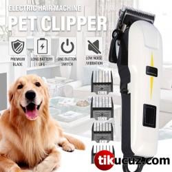 Lcd Ekranlı Dijital Profesyonel Ultra Güçlü Pet Tıraş Makinesi