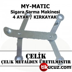 My-matic Sigara Sarma Makinesi Çelik 4 Ayak H-Link Assembly
