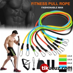 Pilates Fitness Direnç Lastiği Seti