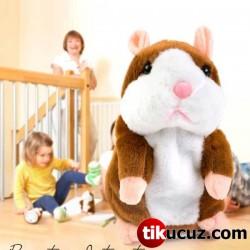 Talking Hamster Ses Taklidi Yapan Sevimli Fare Peluş Oyuncak