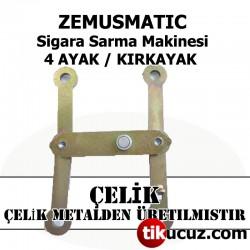 Zemus Matic Sigara Sarma Makinesi Çelik 4 Ayak