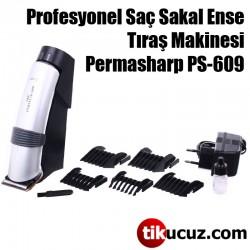 Permasharp PS-609 Profesyonel Saç Sakal Ense Tıraş Makinesi