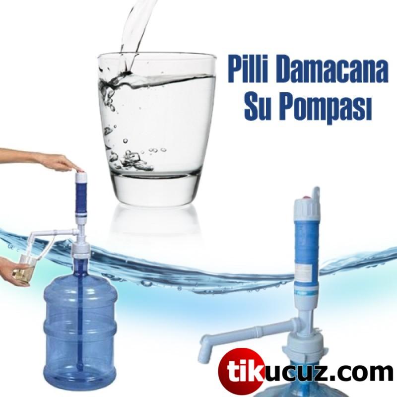 Damacana Su Pompası ( Pilli )