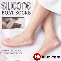 Silikon Jel Topuk Ayak Çorap