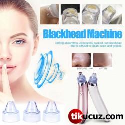 Pilli Vakumlu Siyah Nokta Akne Cilt Temizleyici Temizleme Cihazı