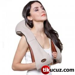 Relax Ovmalı Boyun Sırt ve Vücut Masaj Aleti