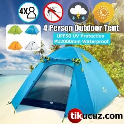 4 Kişilik Kamp Çadırı