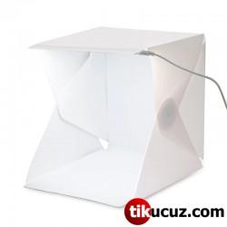 Led Işıklı Ürün Fotoğraf Çekim Çadırı