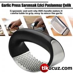 Sarımsak Ezici Paslanmaz Çelik Garlic Press