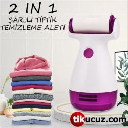 Şarjlı Tiftik ve Kazak Temizleme Makinesi 2 in 1