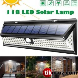 Solar Bahçe Lambası Çakarlı Dış Mekan Su Geçirmez
