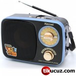 Nostalji Analog Radyo Kemai Md-308BT Bluetooth FM USB SD Kart