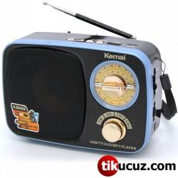 Nostaljik Analog Bluetooth Radyo Kemai MD-308BT