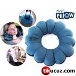 Total Pillow Mikro Boncuklu Yumuşak Yastık Simit